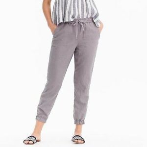 POINT SUR/ J CREW Linen Pants Grey